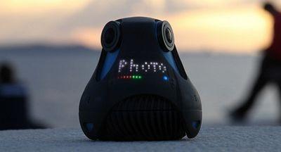 360Cam – миниатюрная full hd камера для стриминга панорамного видео