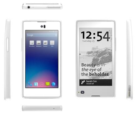 4G-смартфон c двумя экранами для yota соберут в сингапуре