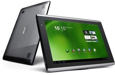 Acer готовит к выпуску несколько планшетов на базе процессора nvidia tegra 3
