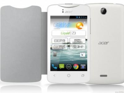 Acer liquid z3 - новый бюджетник с опцией на две sim-карты