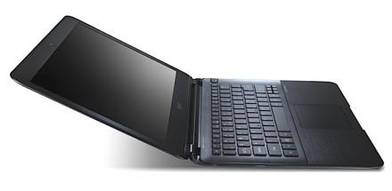 Acer представил «самый тонкий в мире» ультрабук