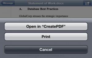 Adobe выпустила приложение для конвертирования документов в pdf на ios-устройствах