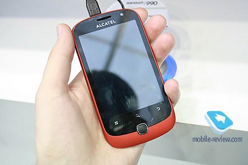 Alcatel на mwc 2011. несколько «роботов» и странные телефоны