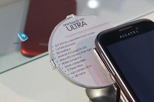 Alcatel на mwc2012 – флагман для среднего сегмента и много android-смартфонов