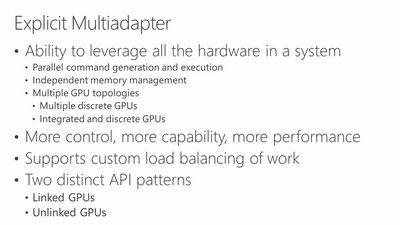 Amd: directx ограничивает потенциал gpu