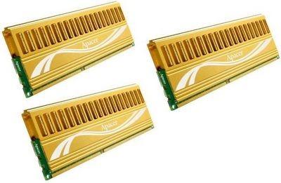 Apacer выпустила комплекты памяти ddr3 высокой емкости
