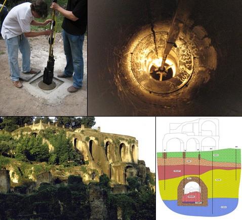 Археологи опубликовали фото пещеры основателей рима