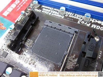 Asrock выпустила материнскую плату для процессоров bulldozer