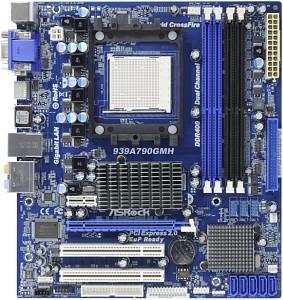 Asrock выпустила материнскую плату для процессоров amd с разъемом socket 939