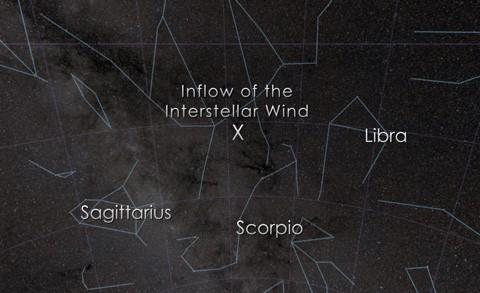 Астрофизики поймали тяжёлые элементы из межзвёздного ветра