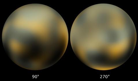 Астрономы открыли покраснение плутона