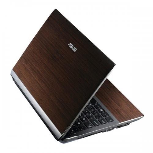 Asus u43sd ноутбук в деревянном корпусе