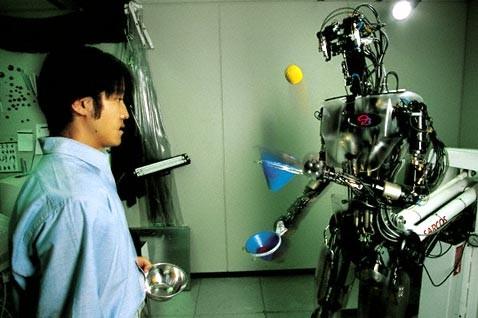 Atom project: японцы хотят вырастить робота-ребёнка