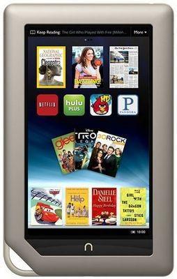 Barnes noble выпустила планшет nook tablet с ips дисплеем и ценой $249