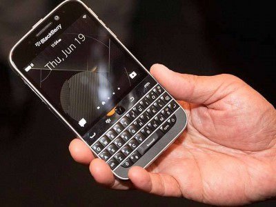 Blackberry classic не получит 13-мегапиксельную камеру