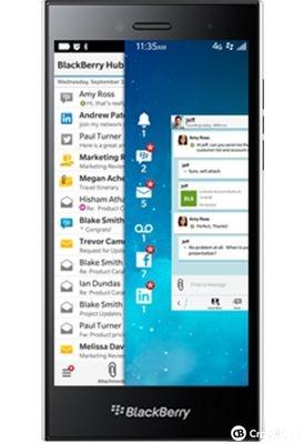 Blackberry leap - новый сенсорный смартфон компании