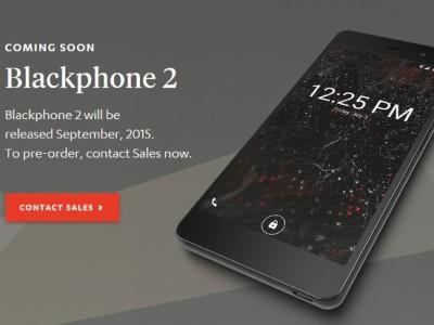 Blackphone 2 с защищённой программной платформой уже доступен для предзаказа