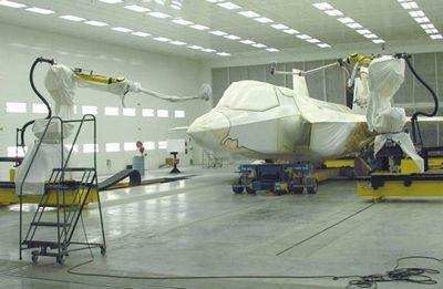 Boeing внедряет роботизированные технологии в сборку 777x