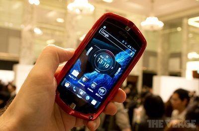 Casio разработала защищенный смартфон g'z one type-l