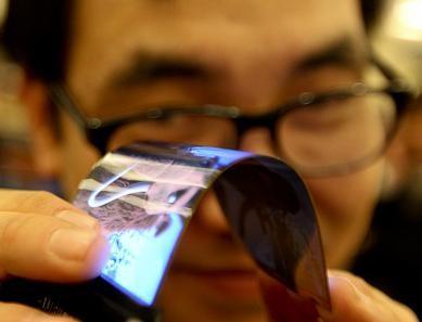 Ces 2013: samsung демонстрирует гибкие дисплеи