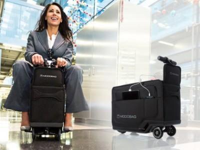 Чемодан modobag зарядит смартфон и довезёт до нужного места
