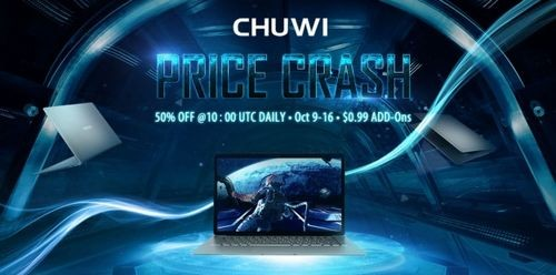 Chuwi запускает в продажу ультрабук lapbook air на gearbest
