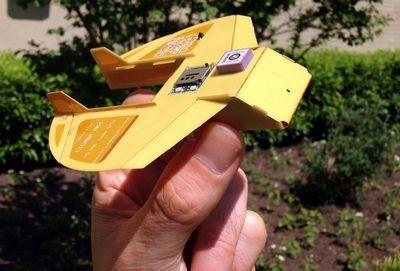 Cicada — военный мини-разведчик (2 фото)