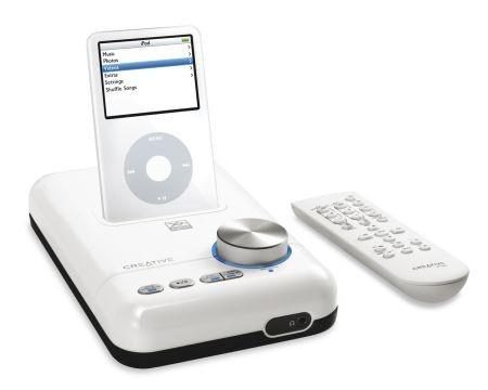 Creative представил беспроводную музыкальную систему для ipod