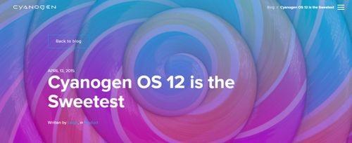 Cyanogen 12 доступен для oneplus one