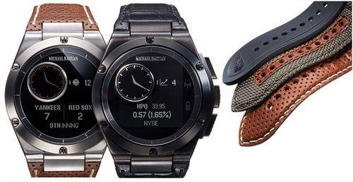 Дизайнерские умные часы от hp mb chronowing