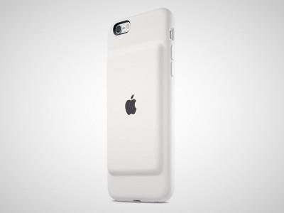 Для iphone 6 и iphone 6s вышли фирменные чехлы со встроенным аккумулятором