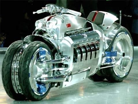 Dodge tomahawk скульптура мотоцикла для экстремальной жизни