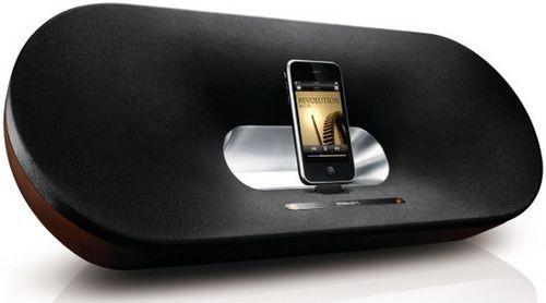 Док-станция philips fidelio - чистое звучание музыки с ipod и iphone
