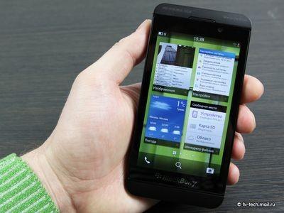 Доступный смартфон на blackberry 10 может появиться
