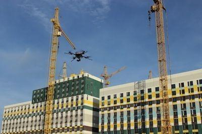 Дроны могут контролировать качество российских строек