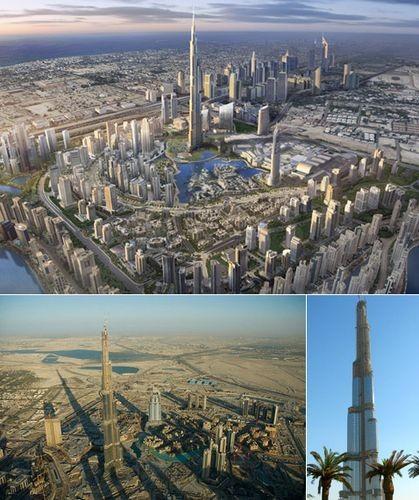Дубайская башня станет ещё выше