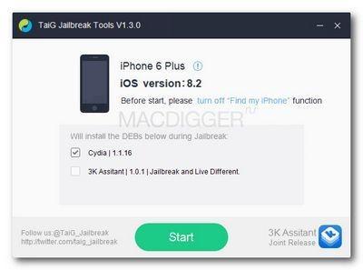 Джейлбрейк taig возможен и на ios 8.1.2