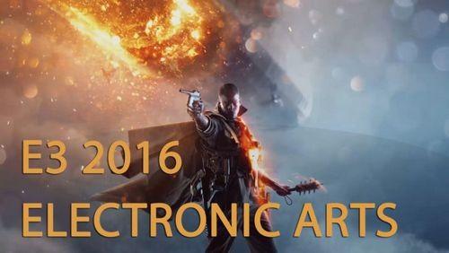 E3 2016. пресс-конференция electronic arts