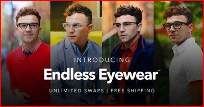 Endless eyewear: новый сервис, позволяющий менять солнцезащитные и оптические очки каждый месяц