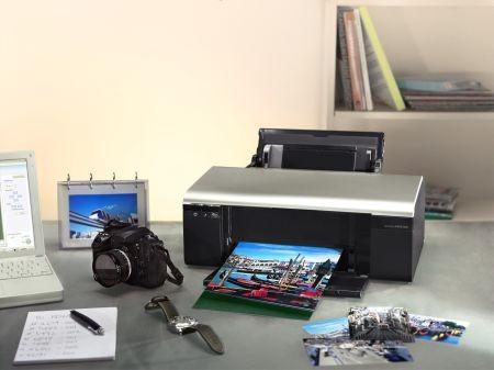 Epson выпустил шестицветный принтер для печати фотографий