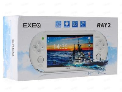 Exeq ray 2 - первая двухъядерная консоль с экраном 5 дюймов