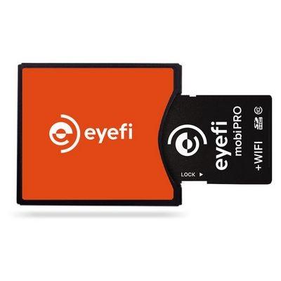 Eyefi mobi pro - карта памяти с модулем wi-fi и возможностью передачи raw-файлов