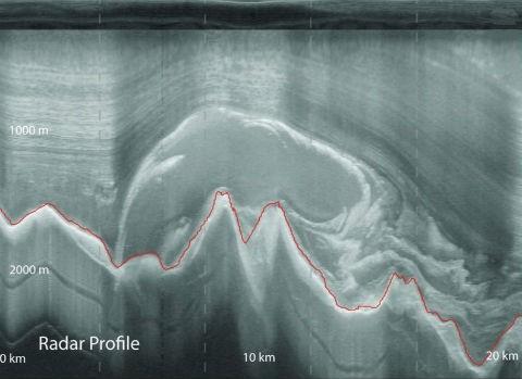 Геологи раскрыли тайну призрачных гор антарктиды