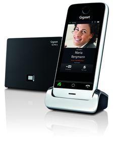 Gigaset представил dect-телефон c cенсорным экраном