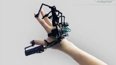 Gloveone позволит потрогать виртуальные объекты