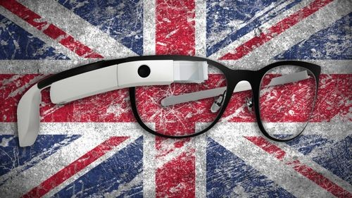 Google glass добрались до великобритании