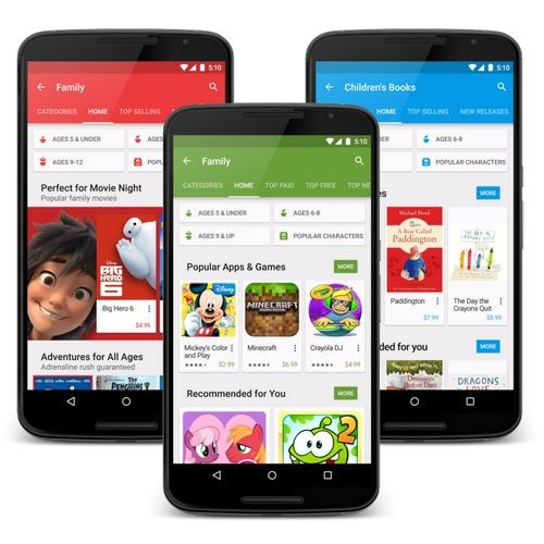 Google i/o 2015: обновление магазина google play