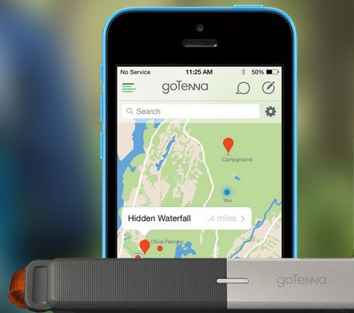Gotenna – подробности о персональной текстовой связи без сотовой сети