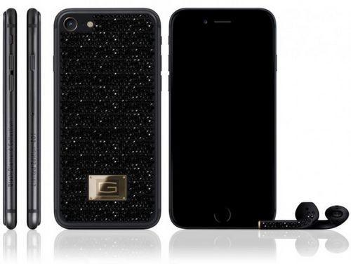 Gresso представила iphone 7 в титановом корпусе, инкрустированном бриллиантами