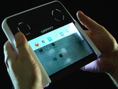 Grippity: первый прозрачный планшет с двусторонним тачскрином